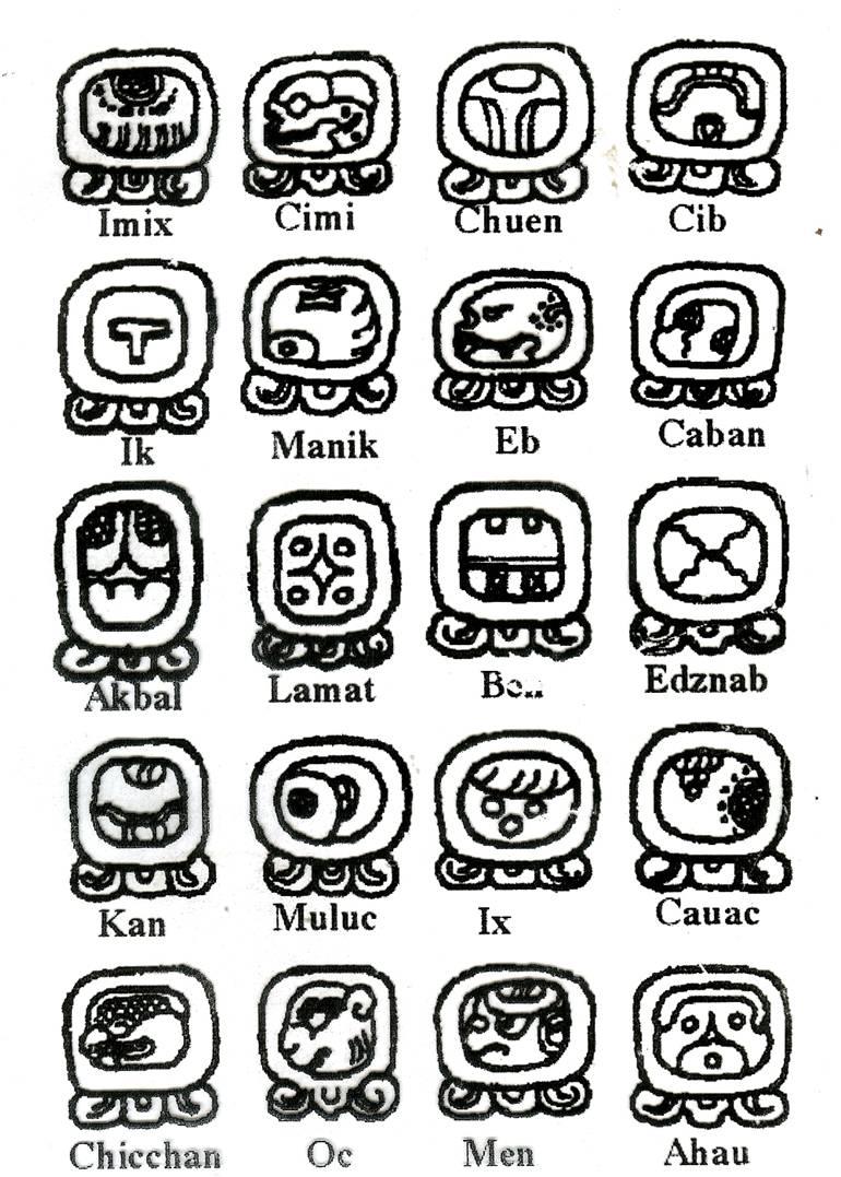 Maya Takvim-Maya Burçları