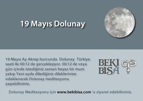 19 Mayıs Dolunay