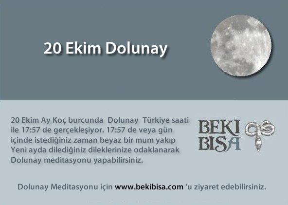 20 Ekim Dolunay
